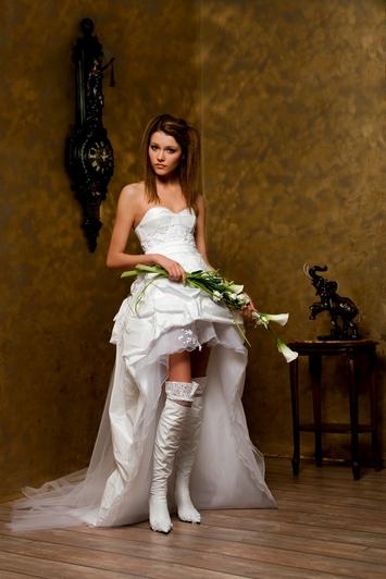 Свадебные платья для полных беременных