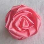 как сделать розу из ленты