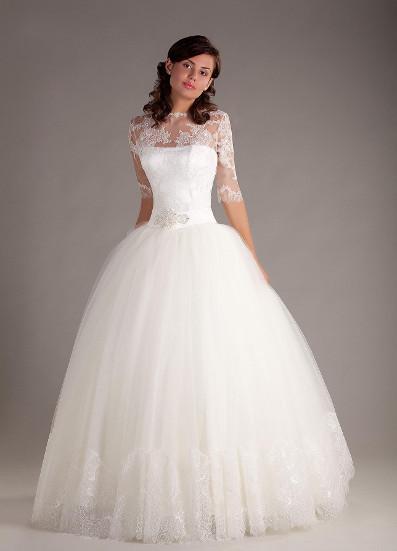 Пышное свадебное платье: обзор фасонов