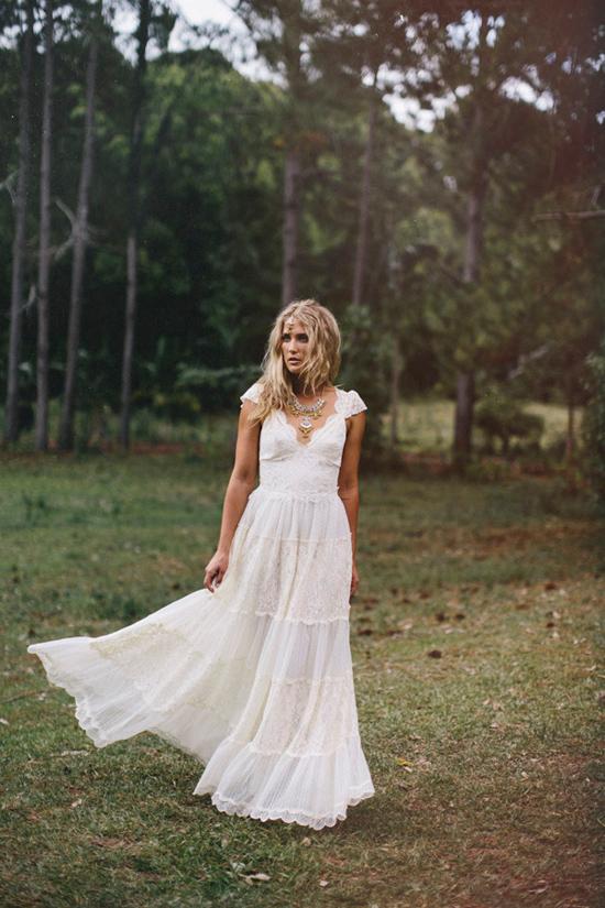 Свадебные платья в стиле бохо фото в