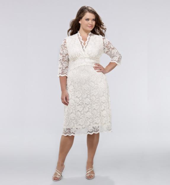 Фото платья с рукавом для полных