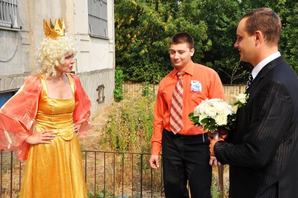Сценарий выкупа невесты по мотивам сказок