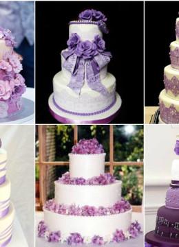 Фиолетовый-свадебный-торт-фото-идеи7