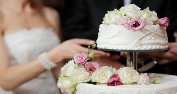 Торт свадебный одноярусный без мастики фото