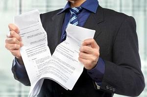 В ряде случаев контракт считается недействительным
