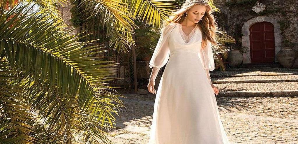 Свадебное платье в стиле прованс