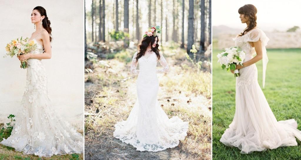 Невеста в рустикальном стиле