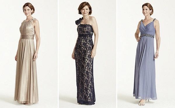 Греческие платья для мамы жениха