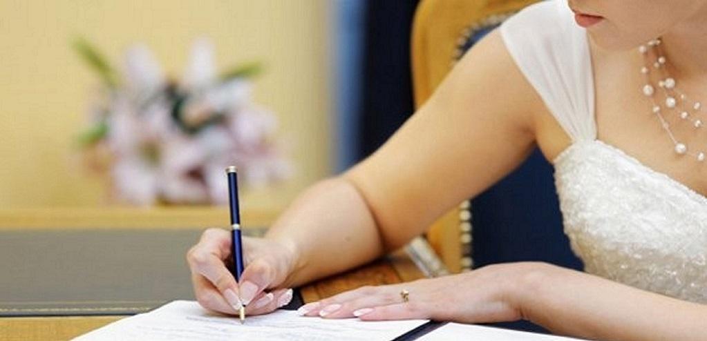 Смена фамилии после замужества документы