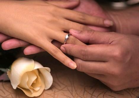 На каком пальце носят помолвочное кольцо