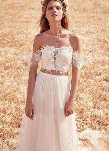 платье в стиле бохо на свадьбу