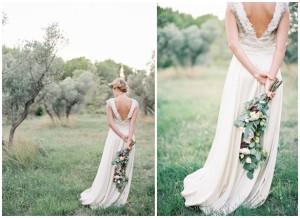 Это платье - отличный вариант для свадьбы на природе