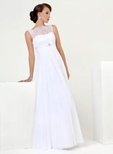 Прованское платье отличается простым кроем