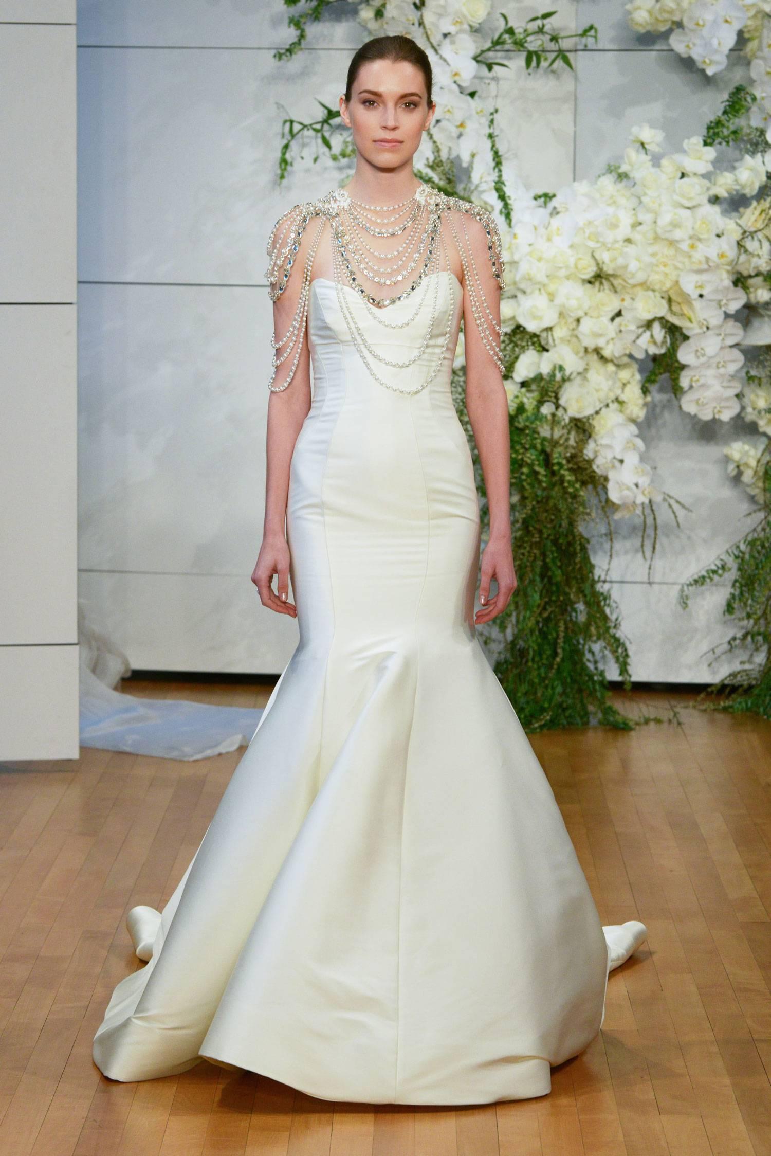 fde5141289c2373 Модные тенденция свадебных платьев 2018: фото трендов