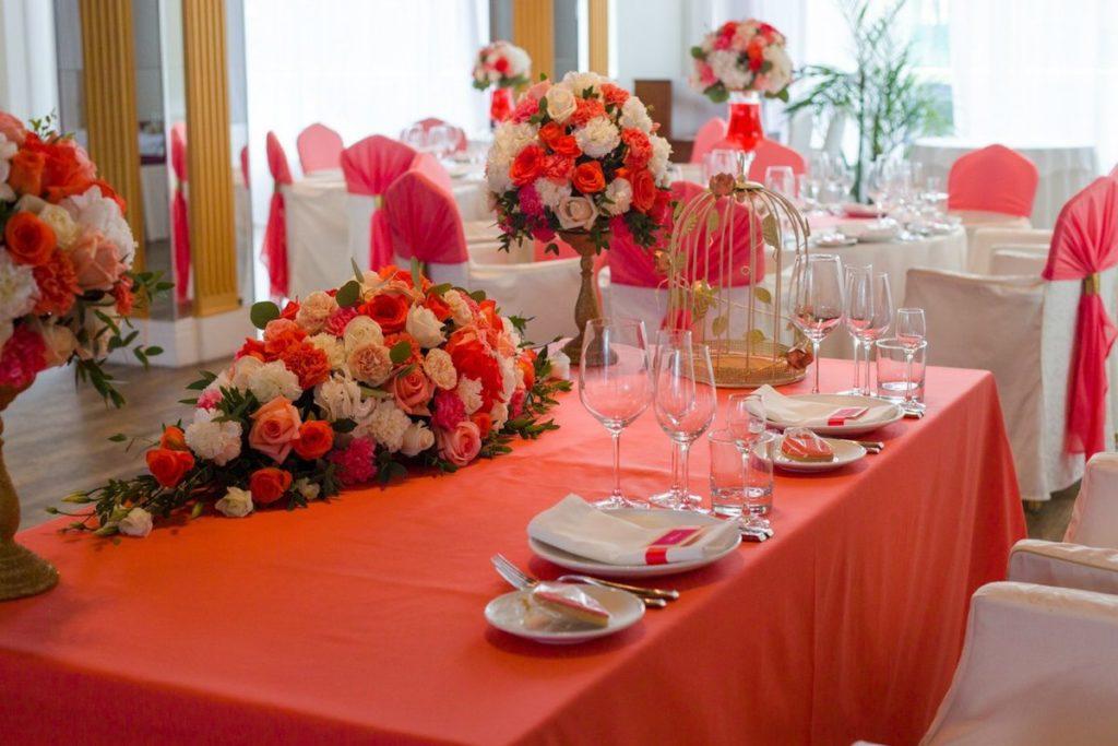 Оформление стола на годовщину 35 лет свадьбы